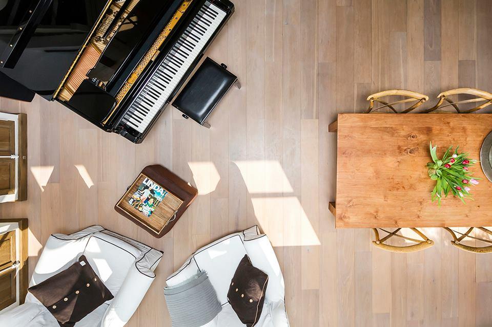 woningfotografie bovenzijde piano